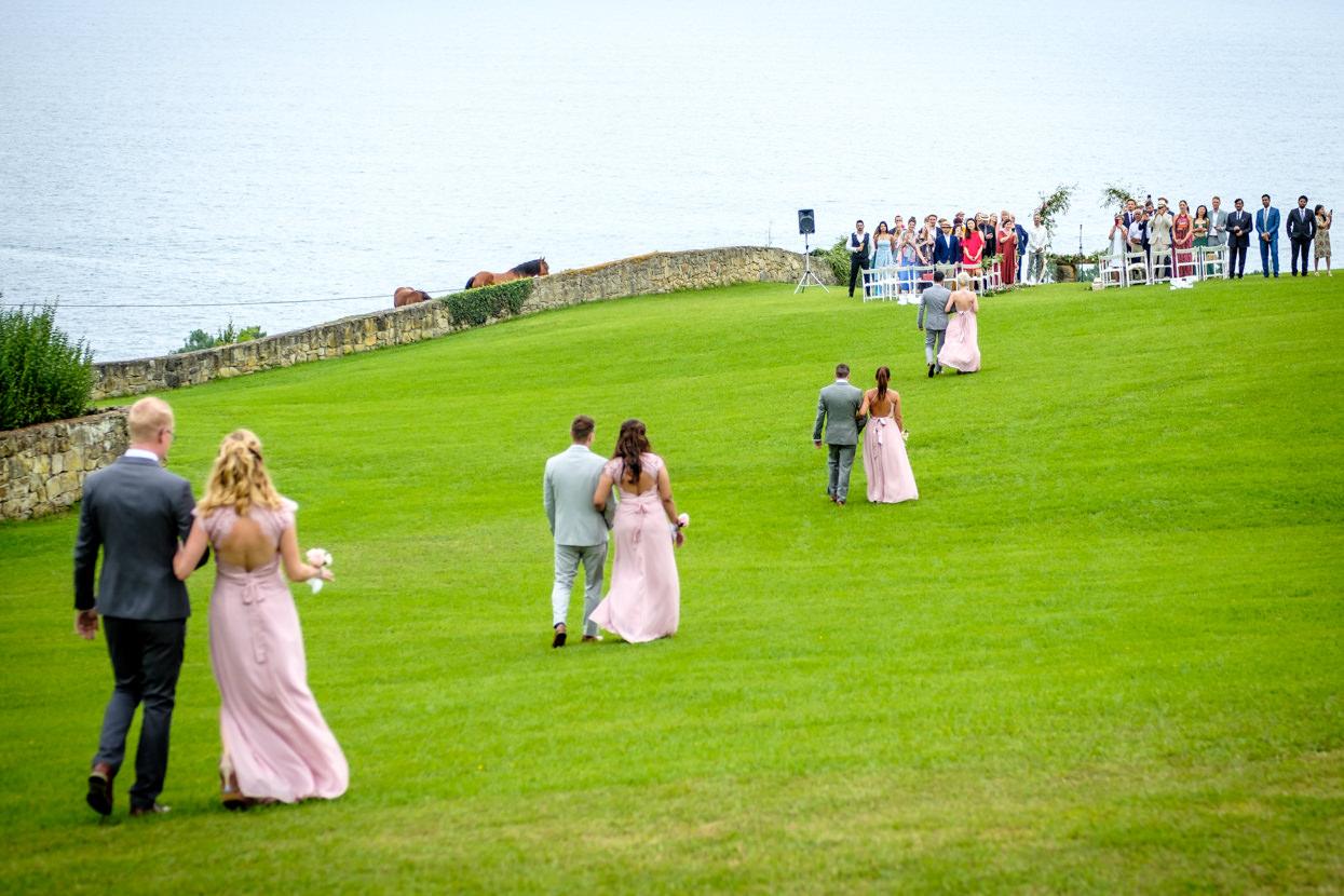 Ceremonia de boda en Itxasbide