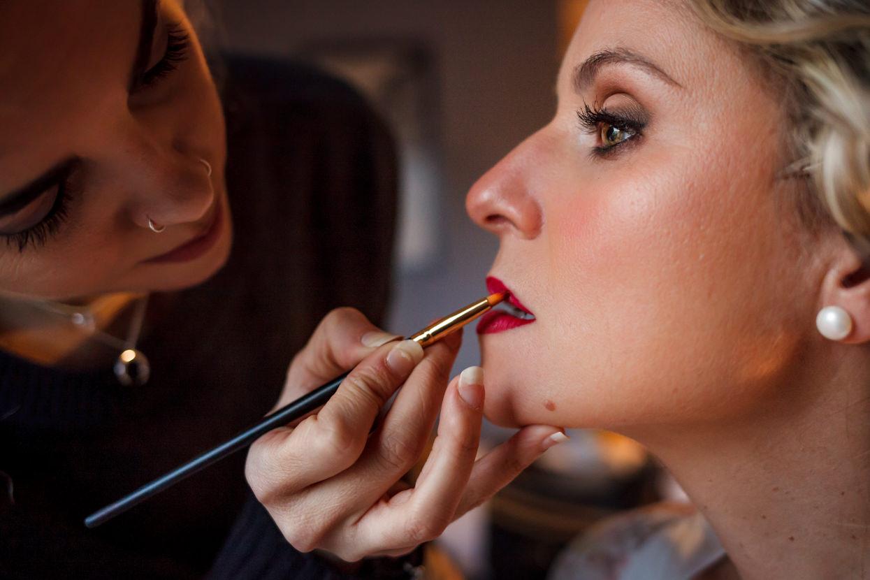 Maquillaje de novia en Hotel Jauregui en Hondarribia