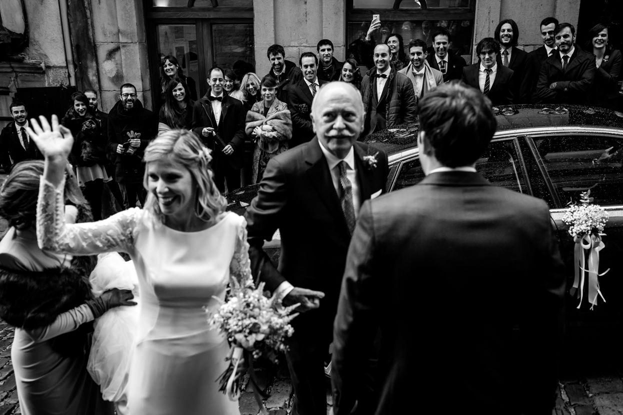 Invitados de boda en Hondarribia