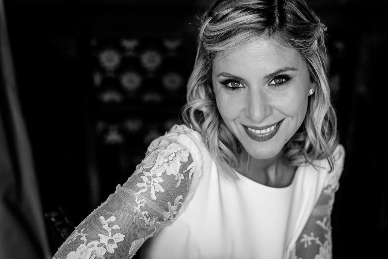 Retrato de novia en Hondarribia