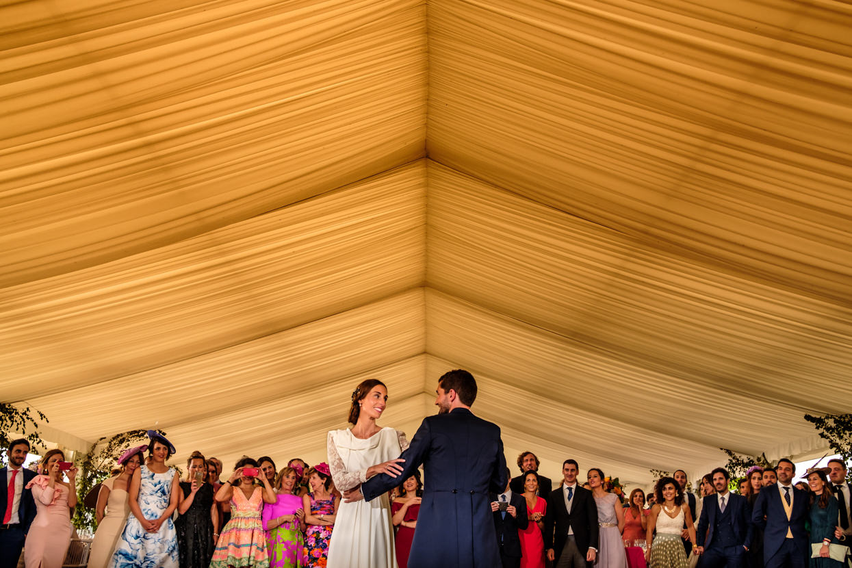 Primer baile en finca Itxasbide