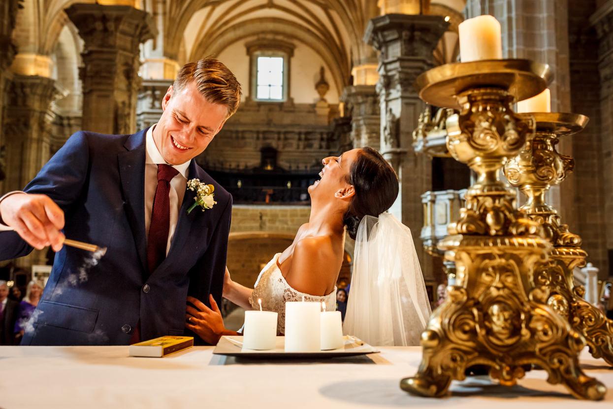 Fotografía de Ceremonia de boda en San Sebastián