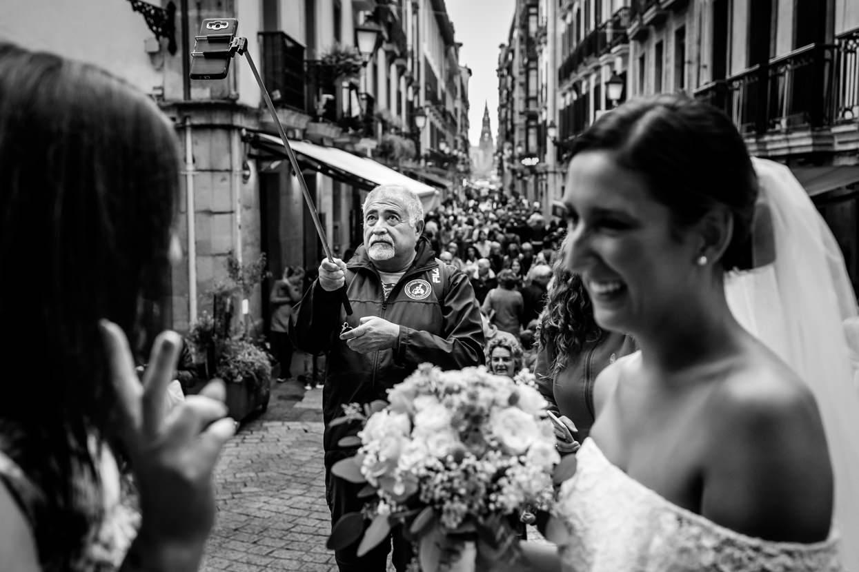 Ceremonia de boda en San Sebastián. Fotógrafo de boda en Gipuzkoa