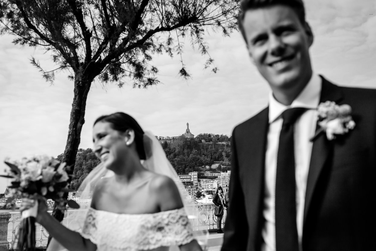 Fotógrafo de boda en Donostia. Destination wedding photographer