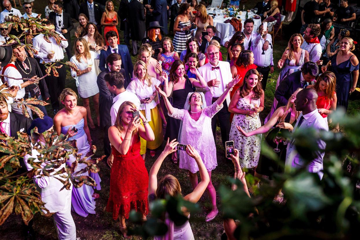 baile de fiesta en boda en navarra