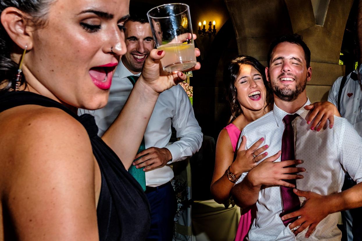 Fotógrafo de boda en Gipuzkoa. Fiesta en Bekoerrota