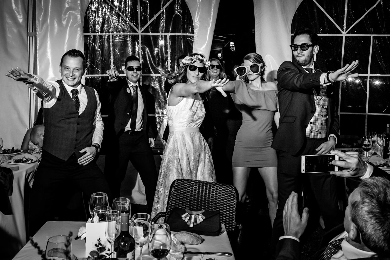 Fiesta de boda en Bizkaia