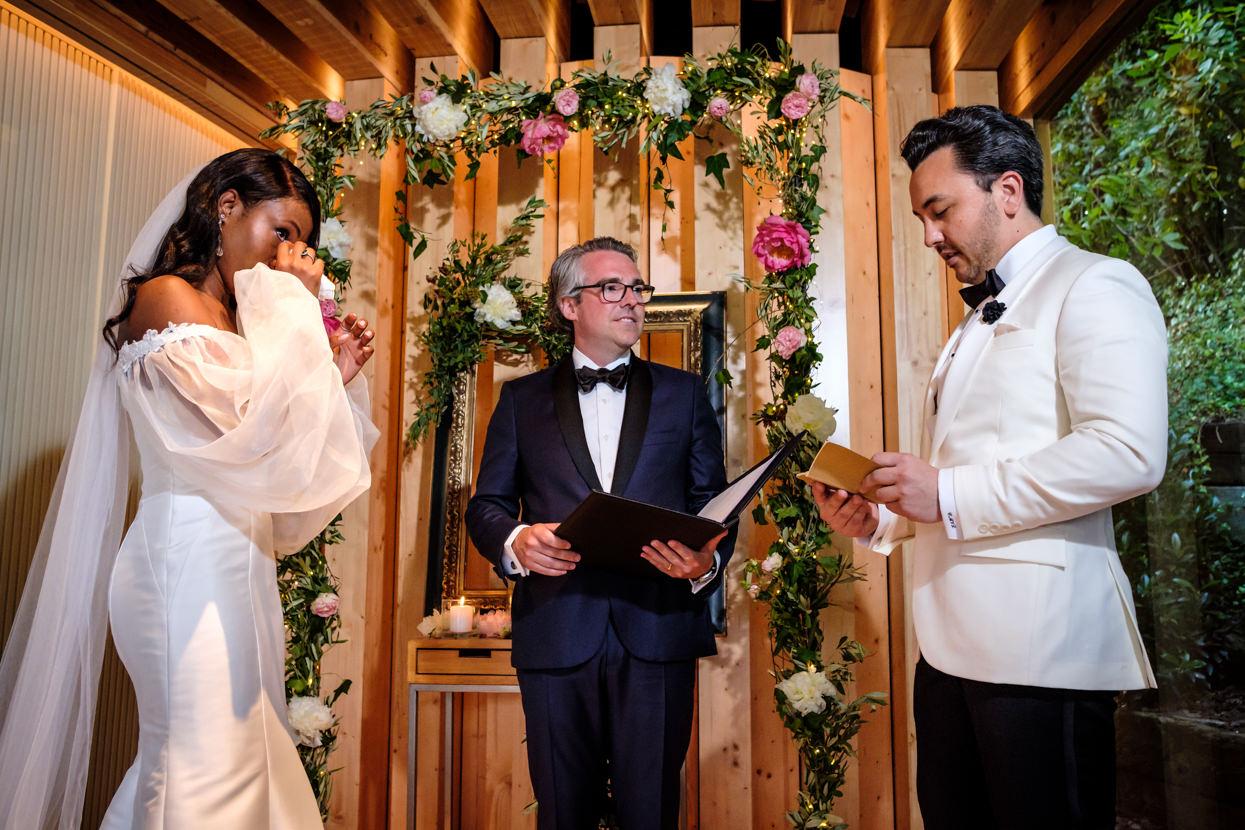 Ceremonia de boda en Martín Berasategui