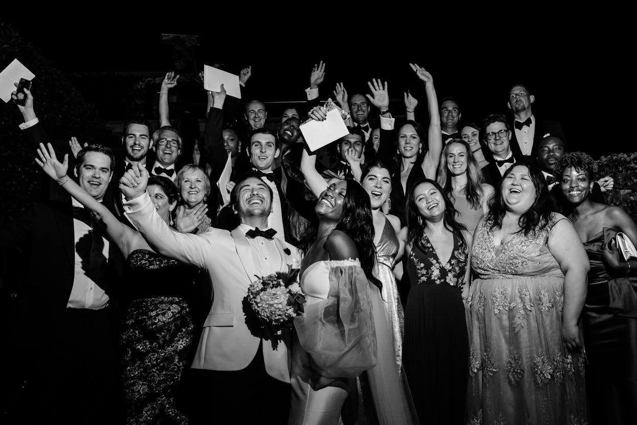 Foto de grupo de boda en Gipuzkoa